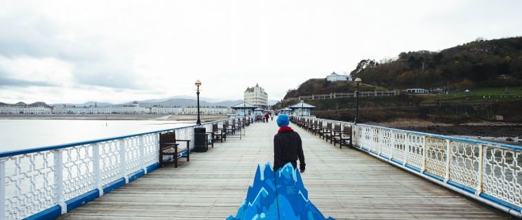 Creative Activism in Llandudno, Ailie Rutherford