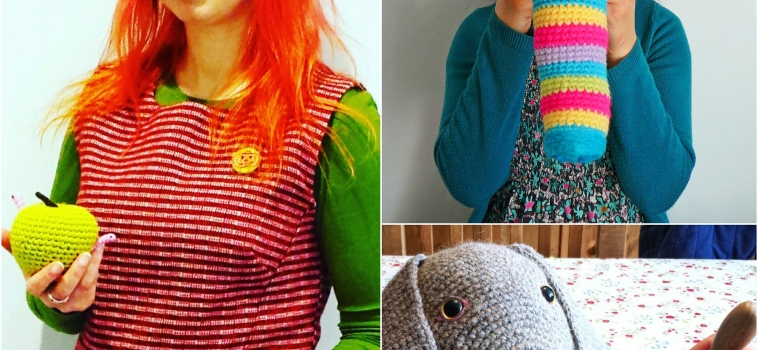 """Live """"YouTube"""" Demonstrations with Crochet Artist Laura Cameron"""