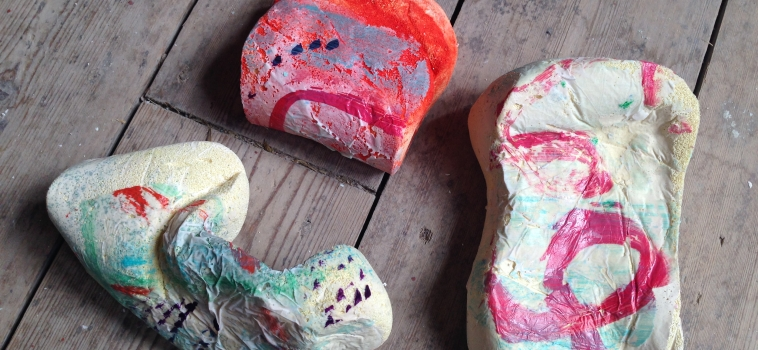 Casting off- Experimenting with casting with Sarah Bowker Jones (all ages) 30 July 2016