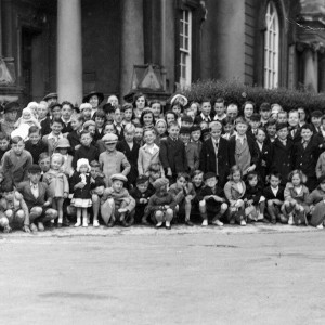 Congregation and Sunday School, Tabernacl, permission Conwy County Archives