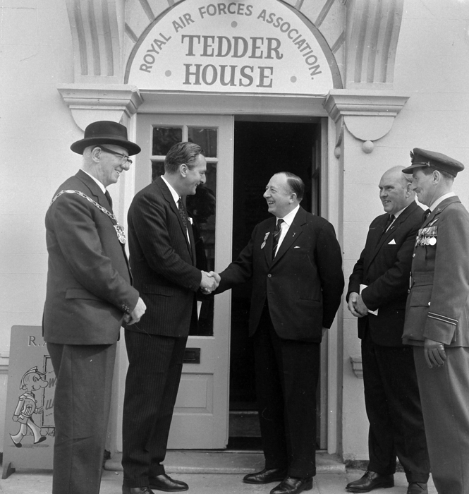 26, Augusta Street, Tedder House exterior, RAFA opening ceremony, photographic credit , John Lawson- Raey