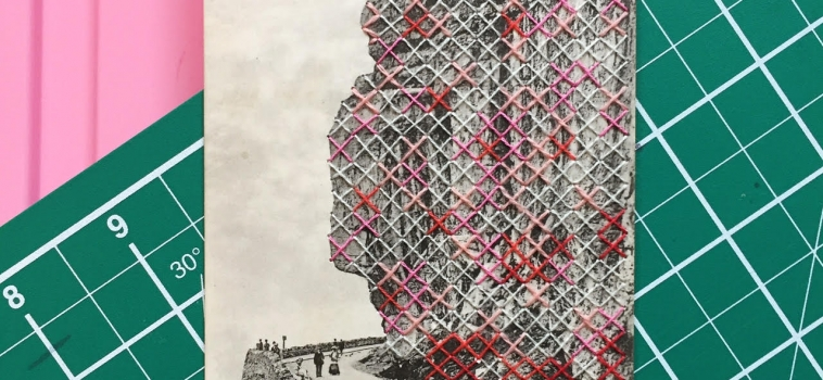 STITCHED INTERVENTIONS with Francesca Caloussi