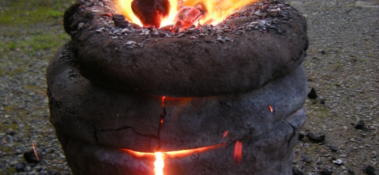 Smelting Demonstration with David Chapman Ancient Arts